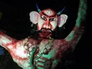 Monstrum. Diwali - Agonda, Goa, Indie