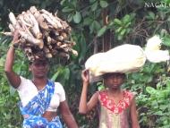 Indické ženy. Agonda, Goa. Indie