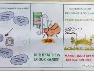Hygiena v Indii. Goa, Indie