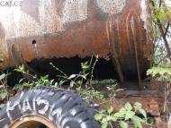 Cisterna v přírodě- Agonda. Goa, Indie