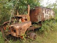 Cisterna v přírodě - Agonda. Goa, Indie