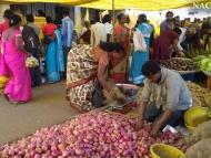 Sobotní trh. Canacona. Goa, Indie