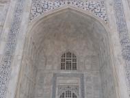 Taj Mahal, detail - Agra, Indie