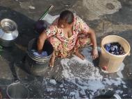 žena v Agra, Indie