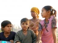 Děti v Agra, Indie