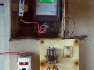 Elektroinstalace v Indii. Arambol, Goa
