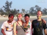 Happy Holi v Arambolu, Goa