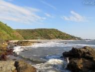 Kalacha pláž. Arambol, Goa, Indie