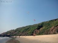 Pláž v Arambolu. Goa, Indie