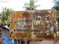 Guest House. Arambol, Goa Indie