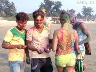 Holi - Indický svátek na pláži v Goa