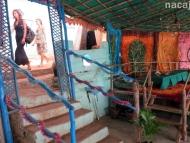 Cliff Side Restaurant. Arambol, Goa