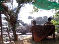 Pohoda. Arambol, Goa, Indie