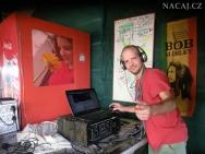 Český DJ v Indii. Plážový - Calangute, Goa