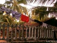 Poblíž pláže v Calangute, Goa - Indie
