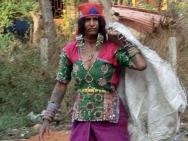 Indická žena v Calangute, Goa - Indie