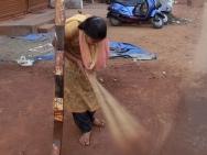 Indická dívka v Calangute, Goa - Indie