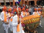 Obří buben. Jaipur-Rajasthan, Indie