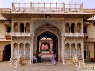 City Palace - Jaipur-Rajasthan, Indie