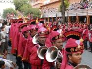 Kapela na festtivalu - Jaipur-Rajasthan, Indie