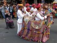 Kroje. Jaipur, Rajasthan, Indie