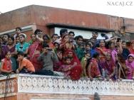 Lidé - festival. Jaipur-Rajasthan, Indie