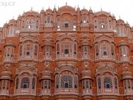 Růžové Město - Jaipur-Rajasthan, Indie
