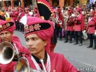 Trumpety na festtivalu - Jaipur-Rajasthan, Indie