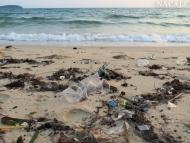 Nečisté pláže. Sihanoukville, Kambodža