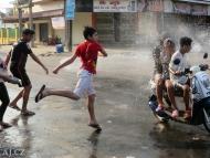 Duben: oslavy Kambodžského Nového Roku