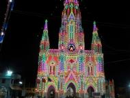 Katedrala v Kanyakumari. Tamil Nadu, Indie