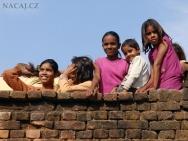 Děti v Khajuraho