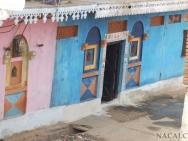 Vesnice u Khajuraho-
