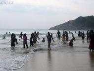 Indky v moři - Kovalam Bech. Kerala, Indie