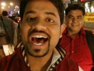 Kamarád Ankit. Dillí - Indie