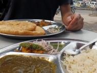 Indické jídlo. První ochutnávka
