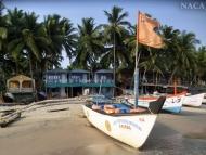 Palolem, Goa. Indie
