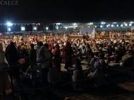 Pushkar Mela Ground - koncert v Pushkaru