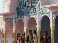 Indické dívky - Pushkar, Rajasthan, Indie