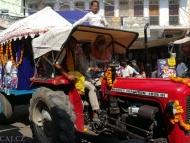 Svatý Traktor - Pushkar, Rajasthan, Indie