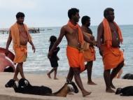 Indové. Rameswaram, Tamil Nadu, Indie