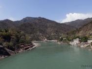 Řeka Ganga - Rishikesh, Indie