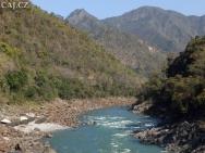 Řeka Ganga - Rishikesh, Uttarakhand, Indie