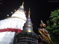 Bílý Wat. Chrám. Chiang Mai, Thajsko