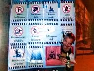 Dodržování zákazů, Chiang Mai, Thajsko