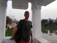 Pink River. Chiang Mai, Thajsko