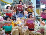Zboží na Thajském trhu