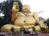 Zlatý Budha. Chiang Mai, Thajsko