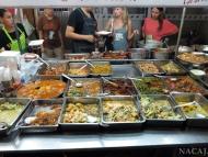 Jídlo na ulici. Bangkok, Thajsko