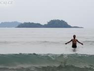 Mourek a moře. Koh Chang, Thajsko